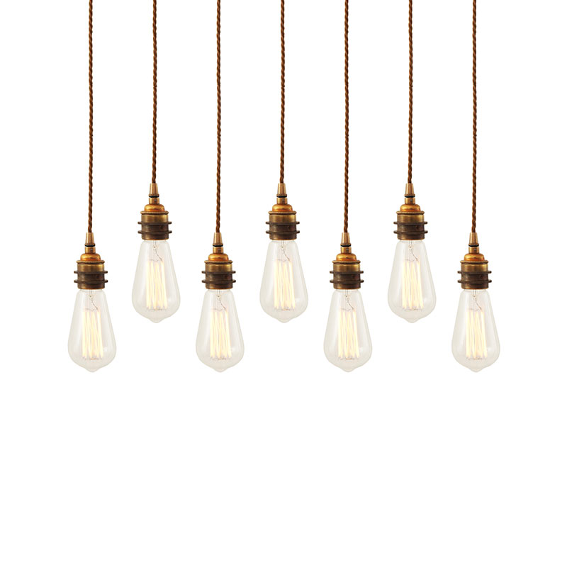 Mullan Lighting Lome Cluster of Seven Chandelier by Mullan Lighting Olson and Baker - Designer & Contemporary Sofas, Furniture - Olson and Baker showcases original designs from authentic, designer brands. Buy contemporary furniture, lighting, storage, sofas & chairs at Olson + Baker.