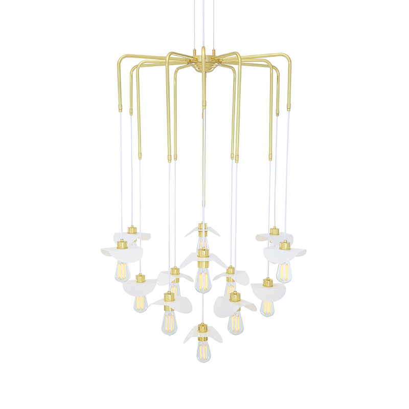 Mullan_Lighting_Madaba_Chandelier_by_Mullan_Lighting_Polished_Brass_1 Olson and Baker - Designer & Contemporary Sofas, Furniture - Olson and Baker showcases original designs from authentic, designer brands. Buy contemporary furniture, lighting, storage, sofas & chairs at Olson + Baker.