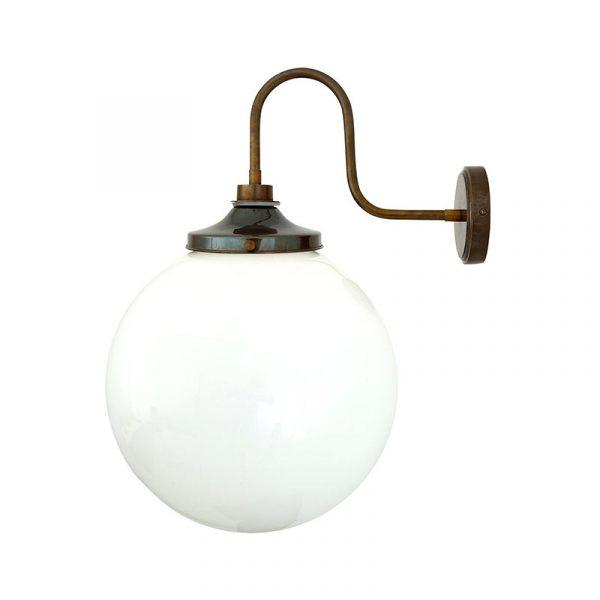 Pelagia 35cm Swan Neck Wall Lamp