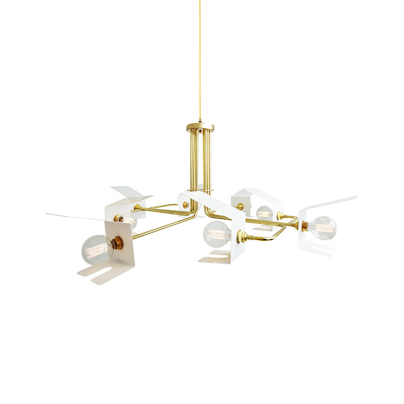 Mullan Lighting Petra Chandelier by Mullan Lighting Olson and Baker - Designer & Contemporary Sofas, Furniture - Olson and Baker showcases original designs from authentic, designer brands. Buy contemporary furniture, lighting, storage, sofas & chairs at Olson + Baker.