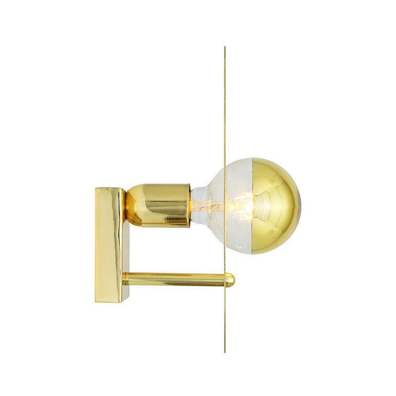 Mullan_Lighting_Qala_Wall_Lamp_by_Mullan_Lighting_Polished_Brass_3 Olson and Baker - Designer & Contemporary Sofas, Furniture - Olson and Baker showcases original designs from authentic, designer brands. Buy contemporary furniture, lighting, storage, sofas & chairs at Olson + Baker.