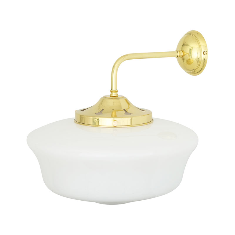 Mullan Lighting Schoolhouse Wall Lamp by Mullan Lighting Olson and Baker - Designer & Contemporary Sofas, Furniture - Olson and Baker showcases original designs from authentic, designer brands. Buy contemporary furniture, lighting, storage, sofas & chairs at Olson + Baker.