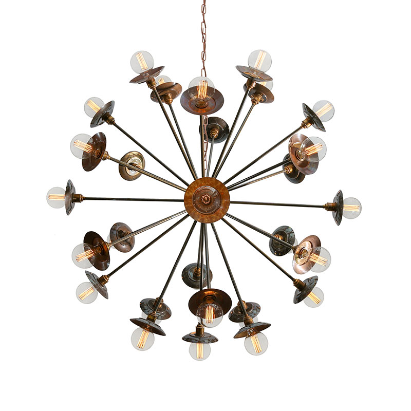 Mullan Lighting Tokyo Chandelier by Mullan Lighting Olson and Baker - Designer & Contemporary Sofas, Furniture - Olson and Baker showcases original designs from authentic, designer brands. Buy contemporary furniture, lighting, storage, sofas & chairs at Olson + Baker.