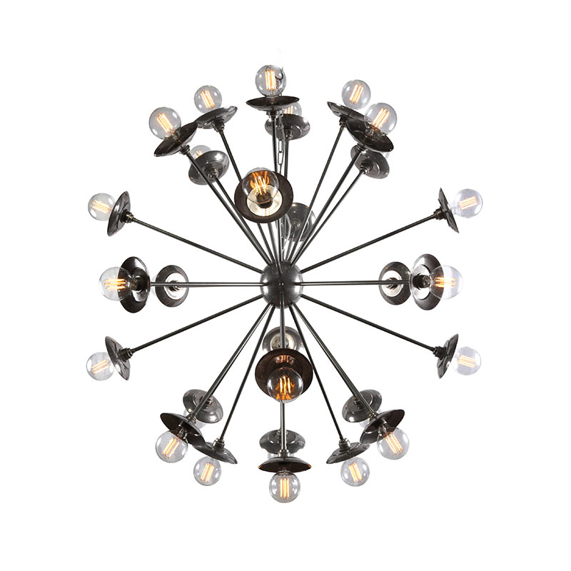 Mullan_Lighting_Tokyo_Chandelier_by_Mullan_Lighting_Antique_Silver_3 Olson and Baker - Designer & Contemporary Sofas, Furniture - Olson and Baker showcases original designs from authentic, designer brands. Buy contemporary furniture, lighting, storage, sofas & chairs at Olson + Baker.
