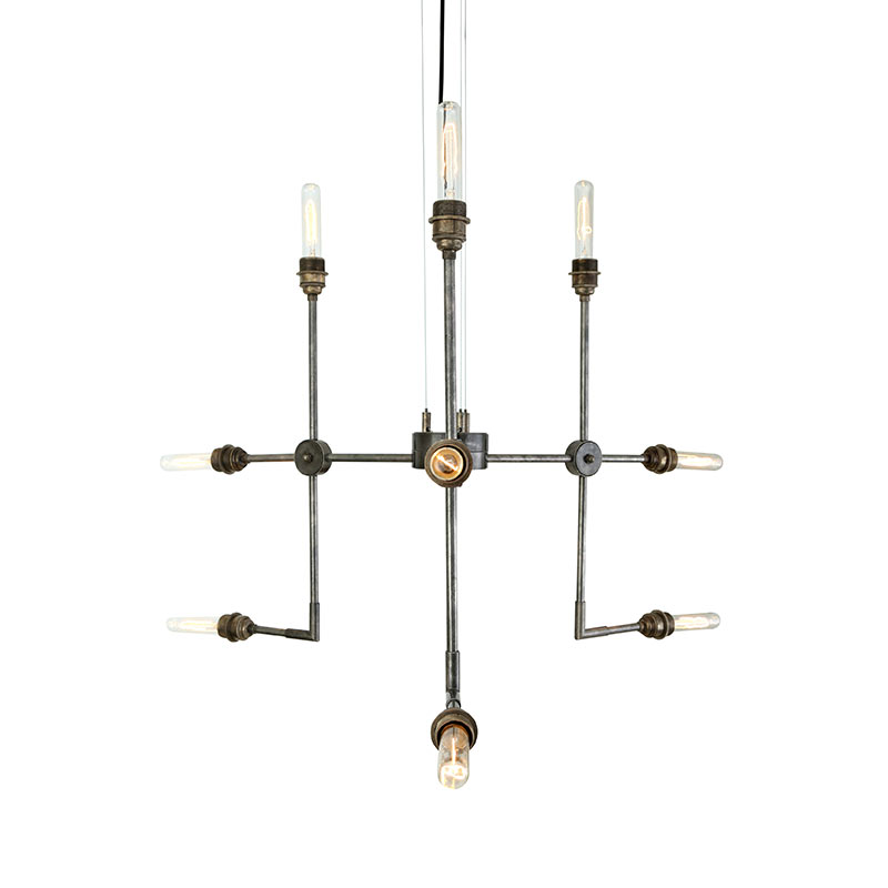 Mullan Lighting Toluca Chandelier by Mullan Lighting Olson and Baker - Designer & Contemporary Sofas, Furniture - Olson and Baker showcases original designs from authentic, designer brands. Buy contemporary furniture, lighting, storage, sofas & chairs at Olson + Baker.