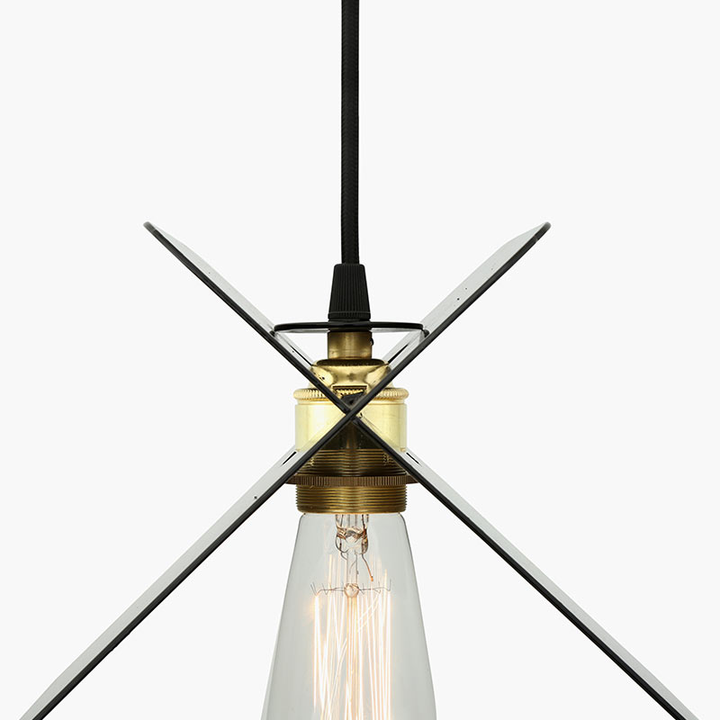 Mullan_Lighting_Vilius_Pendant_by_Mullan_Lighting_Black_3 Olson and Baker - Designer & Contemporary Sofas, Furniture - Olson and Baker showcases original designs from authentic, designer brands. Buy contemporary furniture, lighting, storage, sofas & chairs at Olson + Baker.