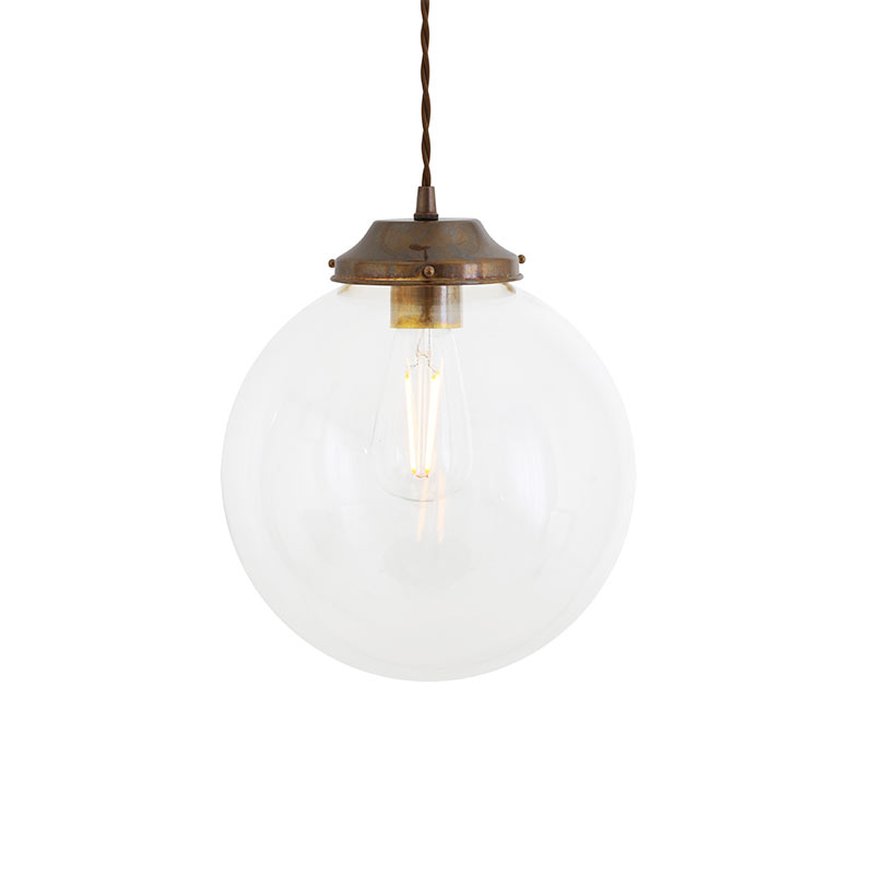 Mullan Lighting Virginia 20cm Pendant Light by Mullan Lighting Olson and Baker - Designer & Contemporary Sofas, Furniture - Olson and Baker showcases original designs from authentic, designer brands. Buy contemporary furniture, lighting, storage, sofas & chairs at Olson + Baker.