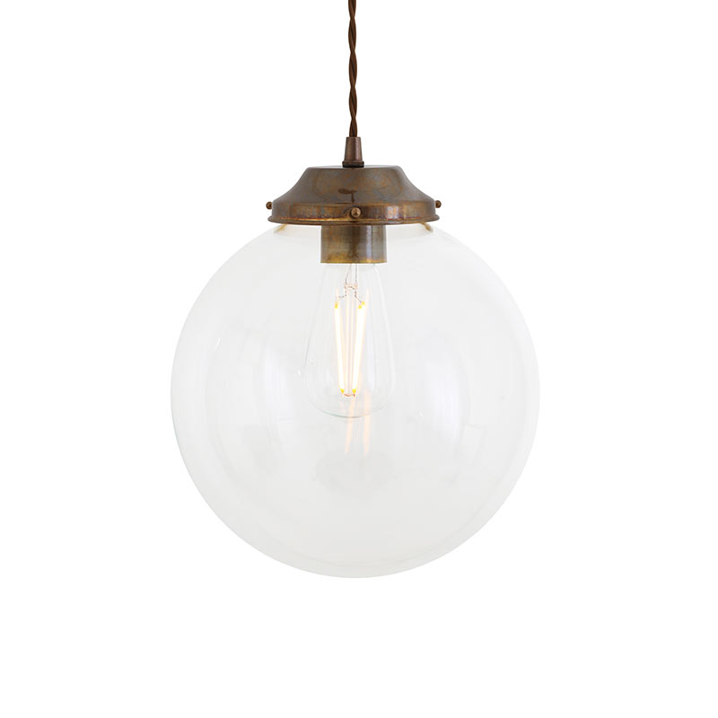 Mullan Lighting Virginia 25cm Pendant Light by Mullan Lighting Olson and Baker - Designer & Contemporary Sofas, Furniture - Olson and Baker showcases original designs from authentic, designer brands. Buy contemporary furniture, lighting, storage, sofas & chairs at Olson + Baker.