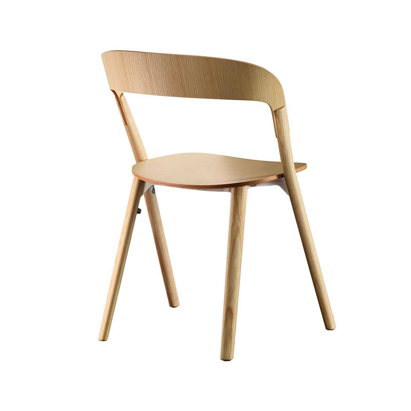 Magis Pila Stackable Chair by Ronan & Erwan Bouroullec Olson and Baker - Designer & Contemporary Sofas, Furniture - Olson and Baker showcases original designs from authentic, designer brands. Buy contemporary furniture, lighting, storage, sofas & chairs at Olson + Baker.