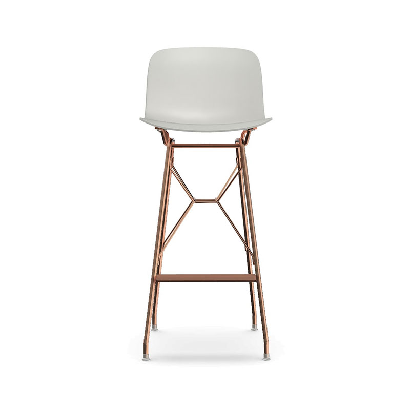 Magis Troy Wireframe High Bar Stool by Marcel Wanders Olson and Baker - Designer & Contemporary Sofas, Furniture - Olson and Baker showcases original designs from authentic, designer brands. Buy contemporary furniture, lighting, storage, sofas & chairs at Olson + Baker.