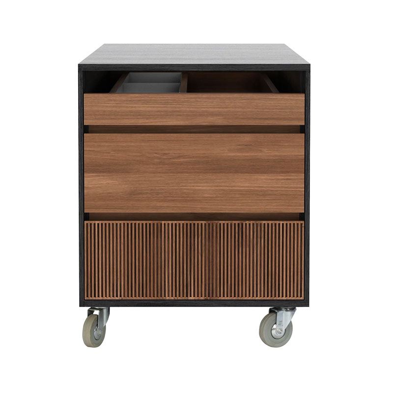 Ethnicraft Oscar Drawer Unit by Olson and Baker - Designer & Contemporary Sofas, Furniture - Olson and Baker showcases original designs from authentic, designer brands. Buy contemporary furniture, lighting, storage, sofas & chairs at Olson + Baker.