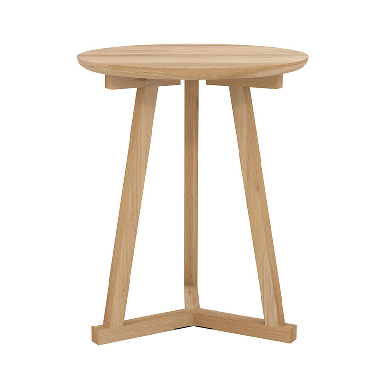 Ethnicraft Tripod Side Table by Ethnicraft Design Studio Olson and Baker - Designer & Contemporary Sofas, Furniture - Olson and Baker showcases original designs from authentic, designer brands. Buy contemporary furniture, lighting, storage, sofas & chairs at Olson + Baker.