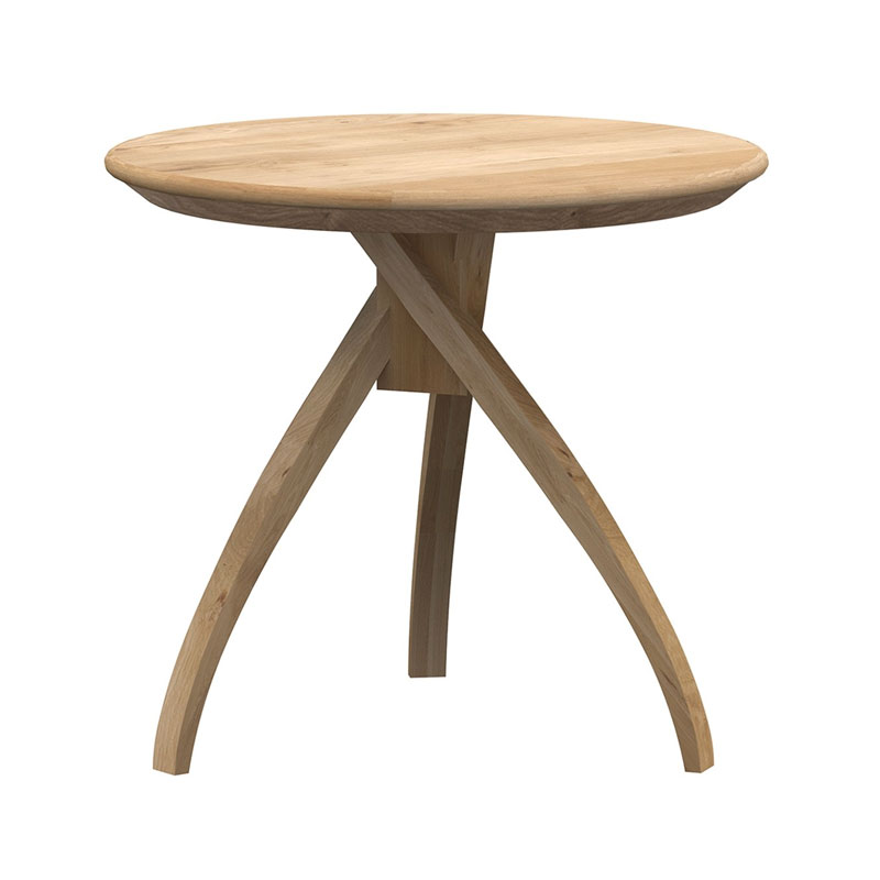 Ethnicraft Twist Side Table by Ethnicraft Design Studio Olson and Baker - Designer & Contemporary Sofas, Furniture - Olson and Baker showcases original designs from authentic, designer brands. Buy contemporary furniture, lighting, storage, sofas & chairs at Olson + Baker.