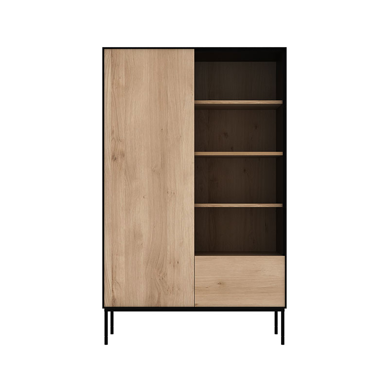 Ethnicraft Blackbird Storage Cupboard by Alain Van Havre Olson and Baker - Designer & Contemporary Sofas, Furniture - Olson and Baker showcases original designs from authentic, designer brands. Buy contemporary furniture, lighting, storage, sofas & chairs at Olson + Baker.