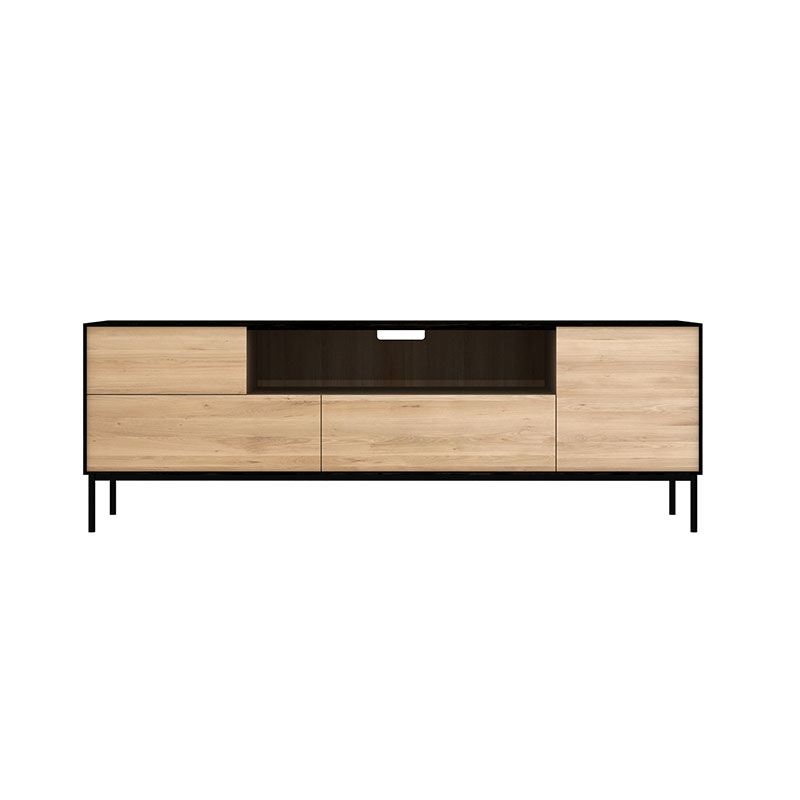 Ethnicraft_Blackbird_TV_Cupboard_by_Alain_Van_Havre_1 Olson and Baker - Designer & Contemporary Sofas, Furniture - Olson and Baker showcases original designs from authentic, designer brands. Buy contemporary furniture, lighting, storage, sofas & chairs at Olson + Baker.