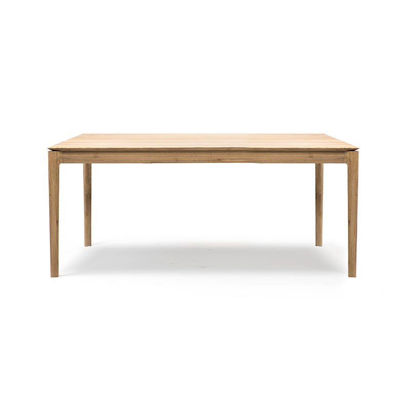 Ethnicraft Bok 180x90cm Dining Table by Alain Van Havre Olson and Baker - Designer & Contemporary Sofas, Furniture - Olson and Baker showcases original designs from authentic, designer brands. Buy contemporary furniture, lighting, storage, sofas & chairs at Olson + Baker.