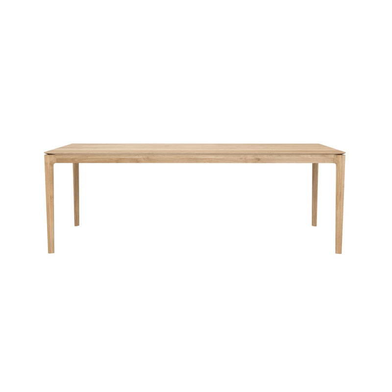 Ethnicraft Bok 200x95cm Dining Table by Alain Van Havre Olson and Baker - Designer & Contemporary Sofas, Furniture - Olson and Baker showcases original designs from authentic, designer brands. Buy contemporary furniture, lighting, storage, sofas & chairs at Olson + Baker.