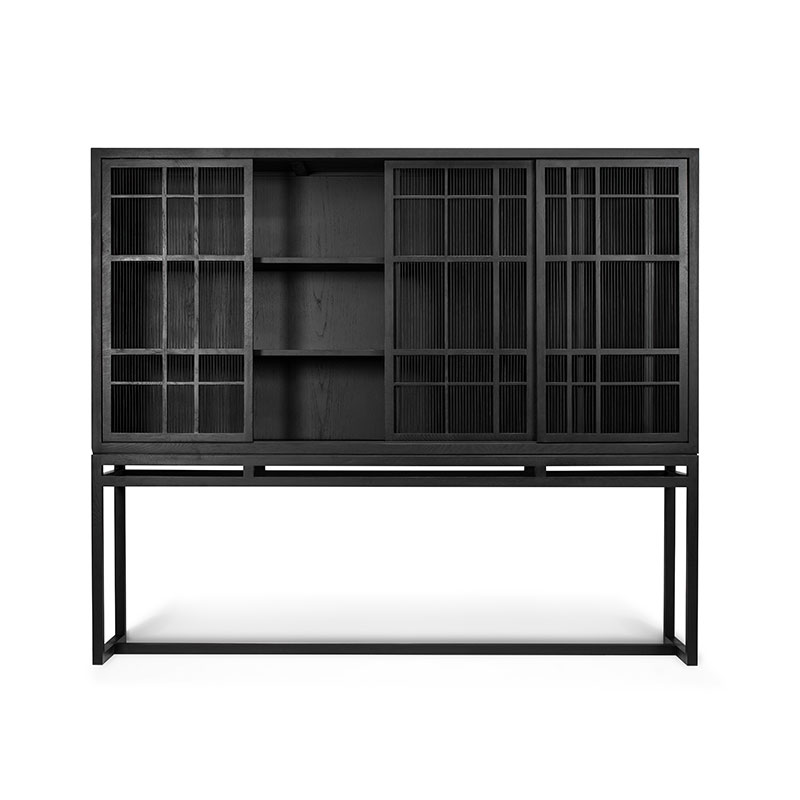 Ethnicraft_Burung_Storage_Cupboard_by_Carlos_Baladia_4_Door_0 Olson and Baker - Designer & Contemporary Sofas, Furniture - Olson and Baker showcases original designs from authentic, designer brands. Buy contemporary furniture, lighting, storage, sofas & chairs at Olson + Baker.