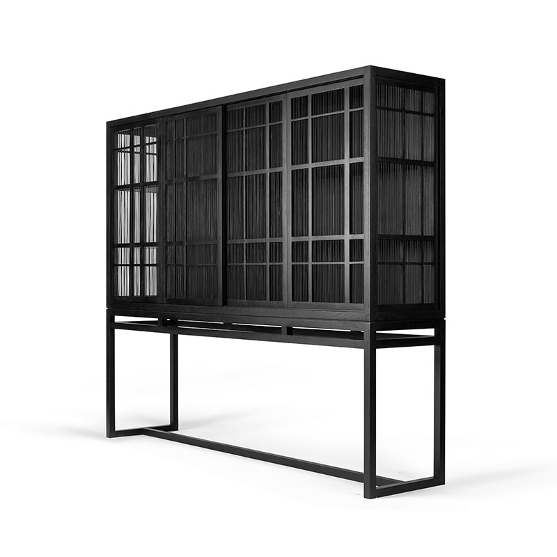 Ethnicraft_Burung_Storage_Cupboard_by_Carlos_Baladia_4_Door_1 Olson and Baker - Designer & Contemporary Sofas, Furniture - Olson and Baker showcases original designs from authentic, designer brands. Buy contemporary furniture, lighting, storage, sofas & chairs at Olson + Baker.