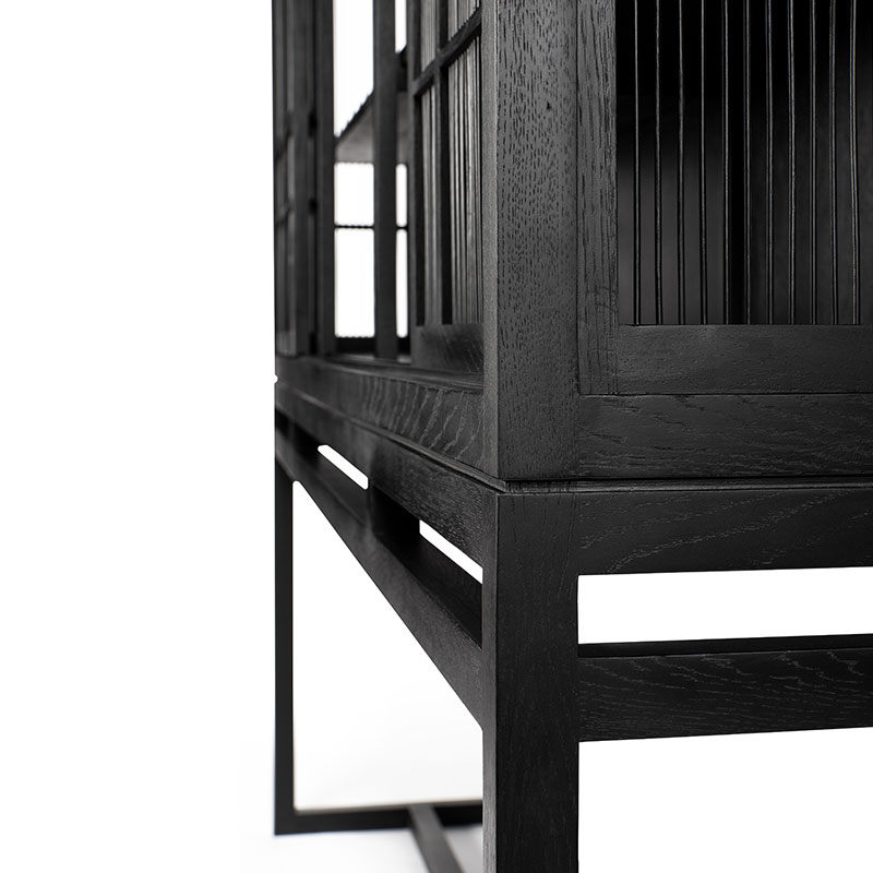 Ethnicraft_Burung_Storage_Cupboard_by_Carlos_Baladia_4_Door_3 Olson and Baker - Designer & Contemporary Sofas, Furniture - Olson and Baker showcases original designs from authentic, designer brands. Buy contemporary furniture, lighting, storage, sofas & chairs at Olson + Baker.