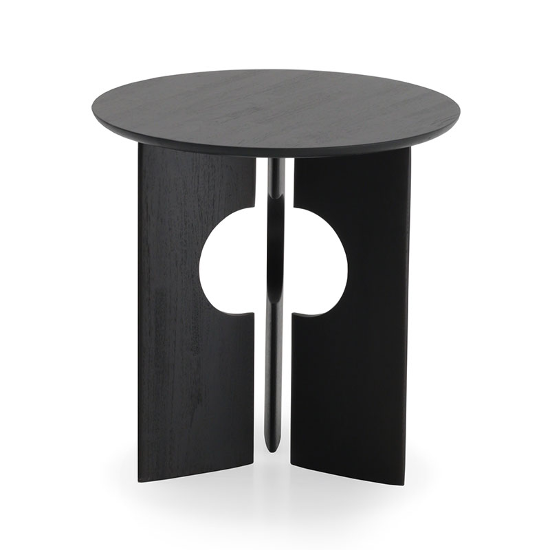 Ethnicraft_Cove_Side_Table_by_Alain_Van_Havre_2 Olson and Baker - Designer & Contemporary Sofas, Furniture - Olson and Baker showcases original designs from authentic, designer brands. Buy contemporary furniture, lighting, storage, sofas & chairs at Olson + Baker.