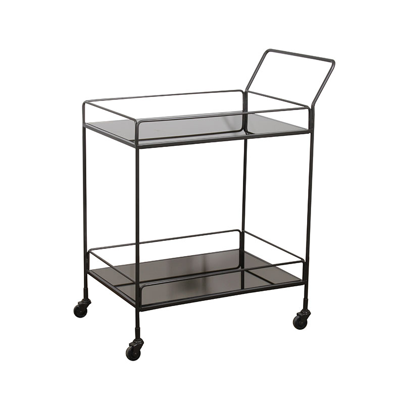 Ethnicraft_Dixon_Bar_Cart_by_Dawn_Sweitzer_Charcoal_0 Olson and Baker - Designer & Contemporary Sofas, Furniture - Olson and Baker showcases original designs from authentic, designer brands. Buy contemporary furniture, lighting, storage, sofas & chairs at Olson + Baker.
