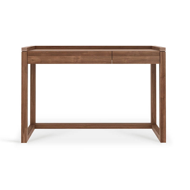 Ethnicraft Frame Desk by Olson and Baker - Designer & Contemporary Sofas, Furniture - Olson and Baker showcases original designs from authentic, designer brands. Buy contemporary furniture, lighting, storage, sofas & chairs at Olson + Baker.