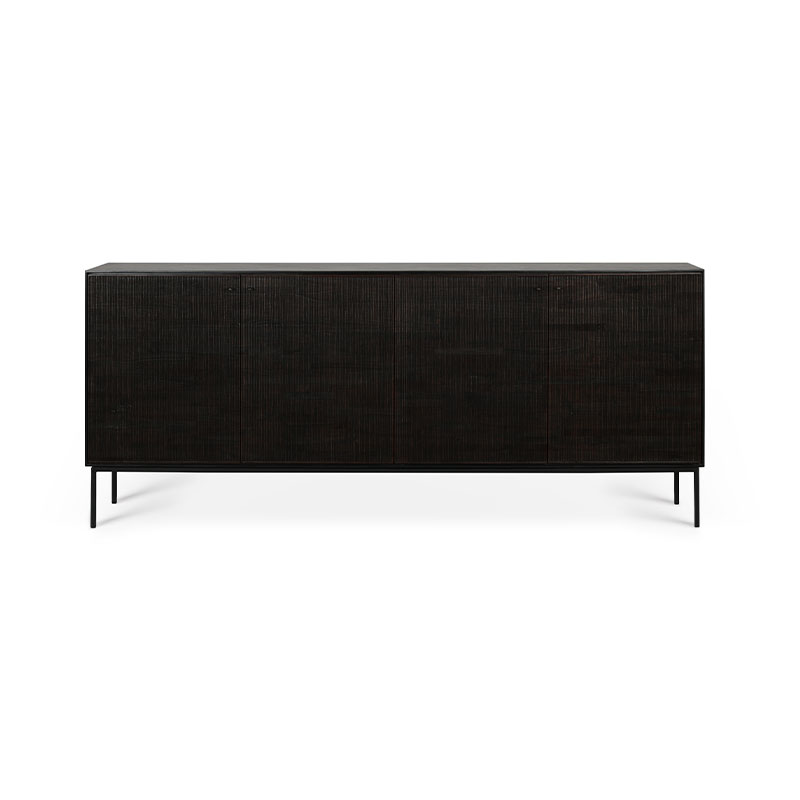 Ethnicraft Grooves Sideboard by Olson and Baker - Designer & Contemporary Sofas, Furniture - Olson and Baker showcases original designs from authentic, designer brands. Buy contemporary furniture, lighting, storage, sofas & chairs at Olson + Baker.