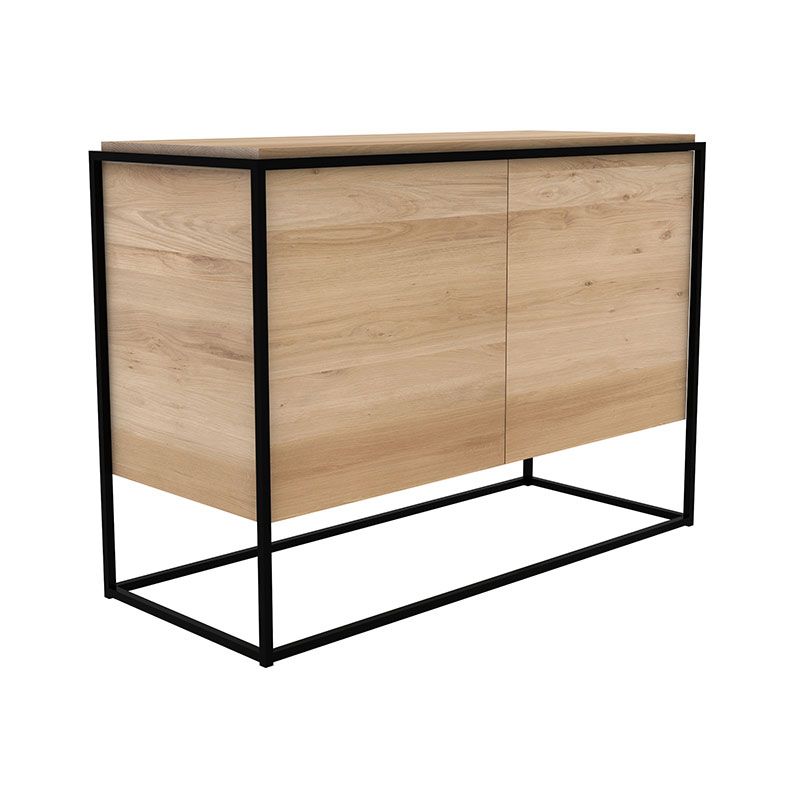 Ethnicraft_Monolit_Sideboard_Oak_0 Olson and Baker - Designer & Contemporary Sofas, Furniture - Olson and Baker showcases original designs from authentic, designer brands. Buy contemporary furniture, lighting, storage, sofas & chairs at Olson + Baker.