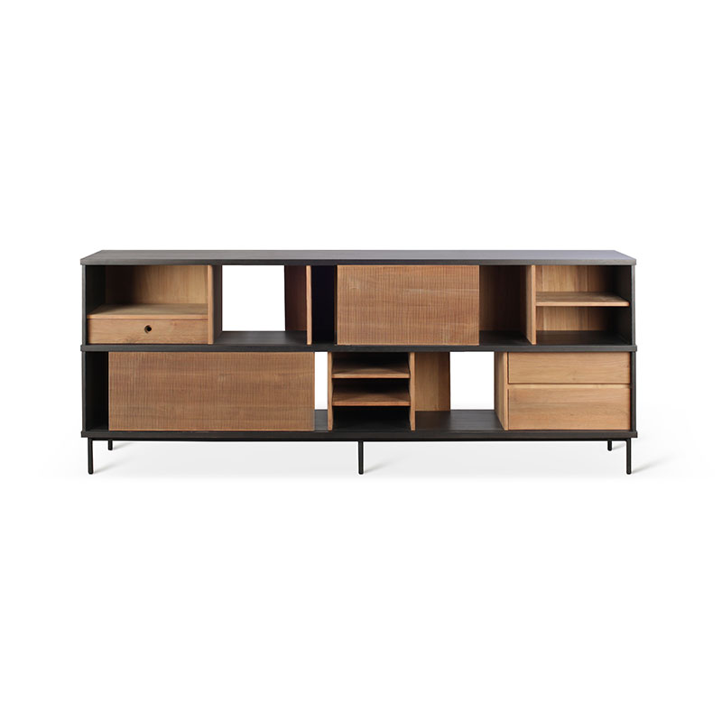 Ethnicraft Oscar Sideboard by Alain Van Havre Olson and Baker - Designer & Contemporary Sofas, Furniture - Olson and Baker showcases original designs from authentic, designer brands. Buy contemporary furniture, lighting, storage, sofas & chairs at Olson + Baker.