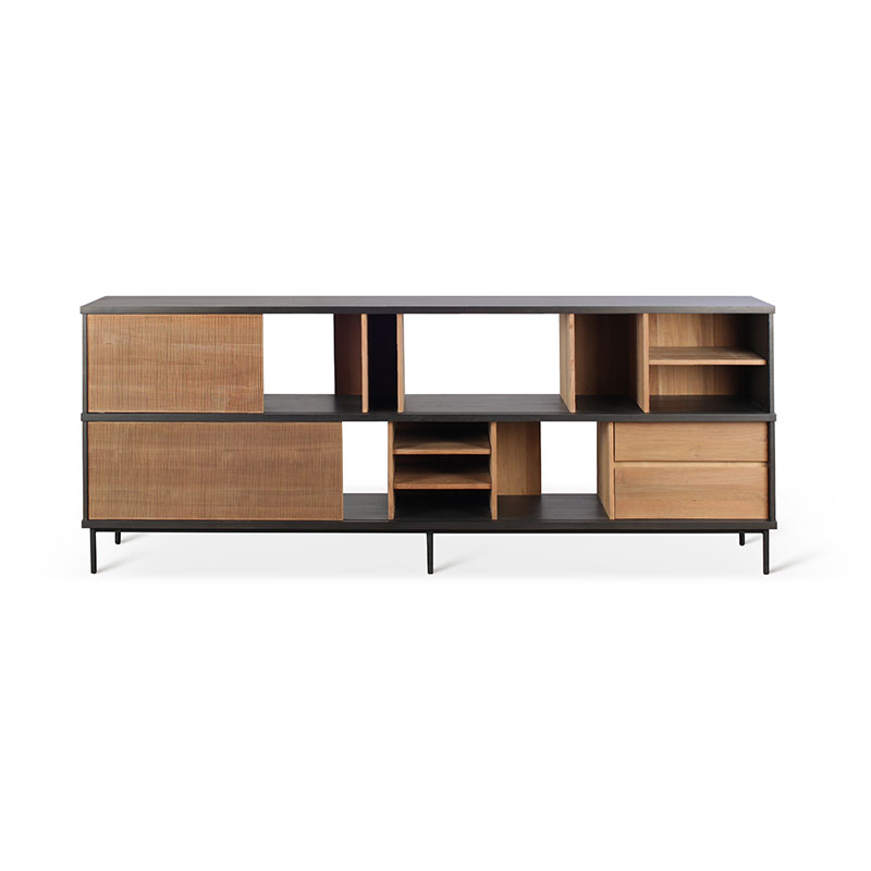 Ethnicraft_Oscar_Sideboard_by_Alain_Van_Havre_1 Olson and Baker - Designer & Contemporary Sofas, Furniture - Olson and Baker showcases original designs from authentic, designer brands. Buy contemporary furniture, lighting, storage, sofas & chairs at Olson + Baker.