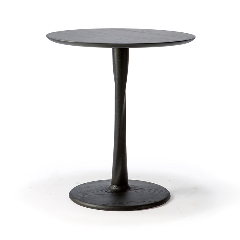 Ethnicraft Torsion Round Dining Table by Alain Van Havre Olson and Baker - Designer & Contemporary Sofas, Furniture - Olson and Baker showcases original designs from authentic, designer brands. Buy contemporary furniture, lighting, storage, sofas & chairs at Olson + Baker.