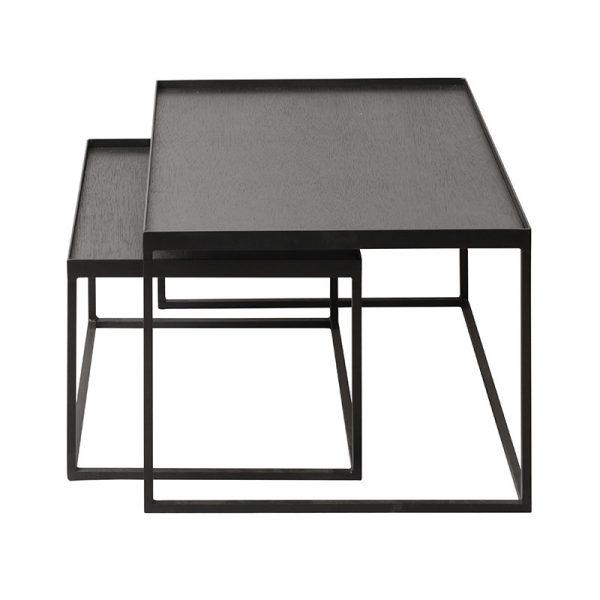Tray Rectangular Coffee Table Set
