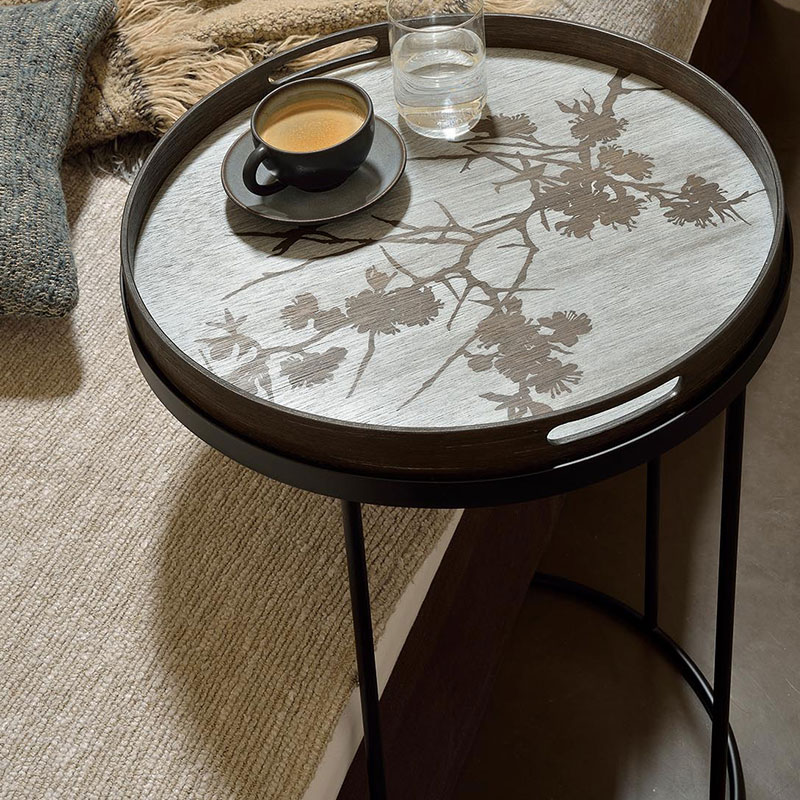 Ethnicraft_Tray_Round_Side_Table_by_Dawn_Sweitzer_Small_0 Olson and Baker - Designer & Contemporary Sofas, Furniture - Olson and Baker showcases original designs from authentic, designer brands. Buy contemporary furniture, lighting, storage, sofas & chairs at Olson + Baker.