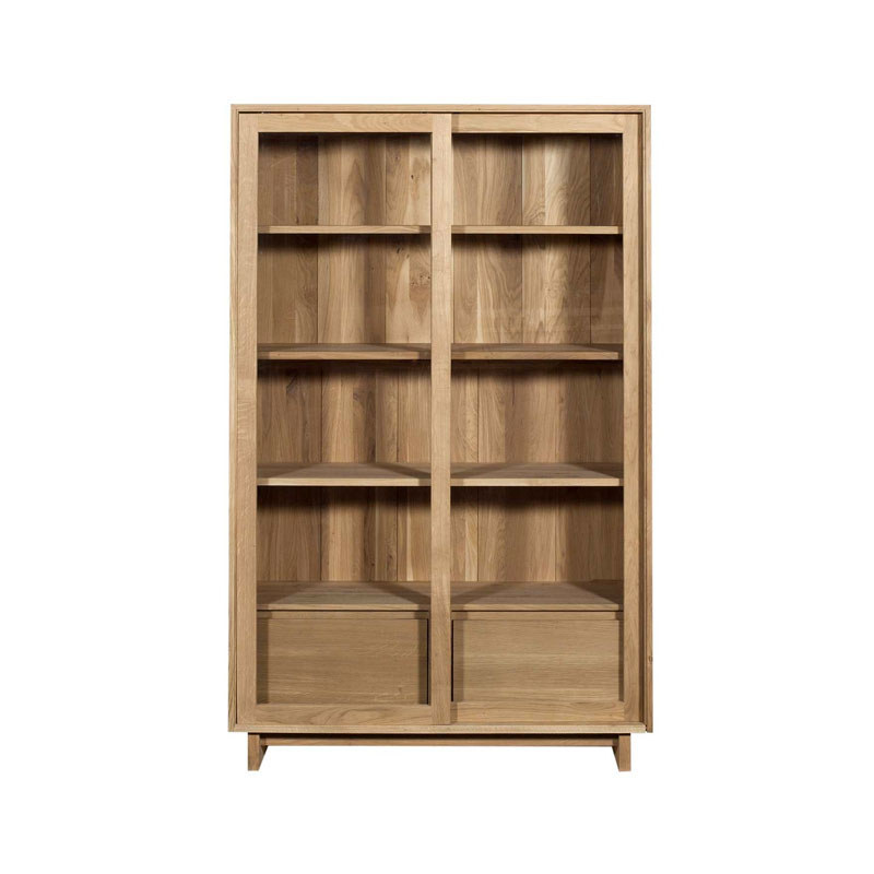 Ethnicraft Wave Storage Cupboard by Olson and Baker - Designer & Contemporary Sofas, Furniture - Olson and Baker showcases original designs from authentic, designer brands. Buy contemporary furniture, lighting, storage, sofas & chairs at Olson + Baker.