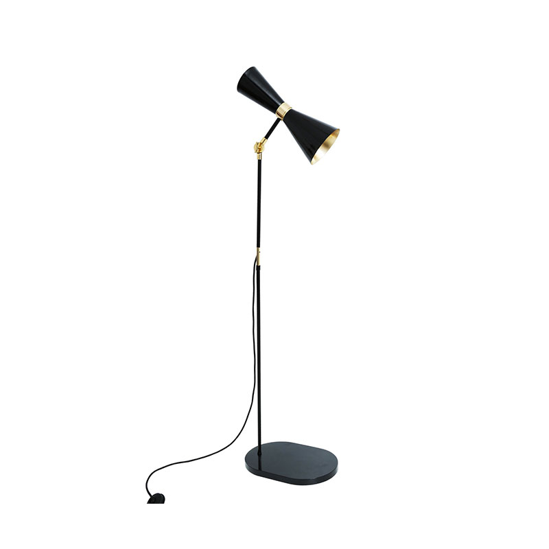 Mullan Lighting Cairo Floor Lamp by Mullan Lighting Olson and Baker - Designer & Contemporary Sofas, Furniture - Olson and Baker showcases original designs from authentic, designer brands. Buy contemporary furniture, lighting, storage, sofas & chairs at Olson + Baker.