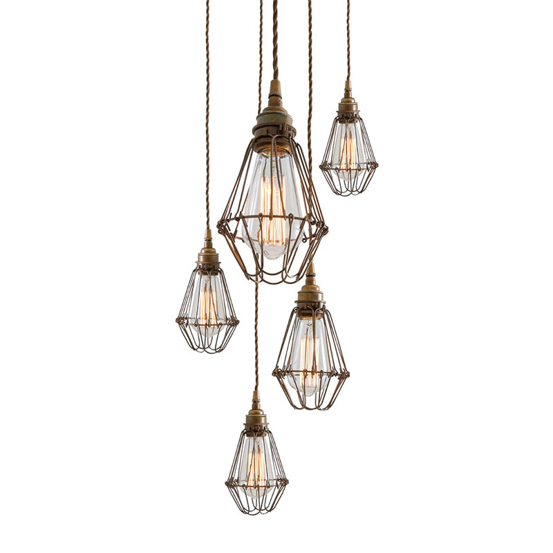 Mullan Lighting Praia Cluster of Five Chandelier by Mullan Lighting Olson and Baker - Designer & Contemporary Sofas, Furniture - Olson and Baker showcases original designs from authentic, designer brands. Buy contemporary furniture, lighting, storage, sofas & chairs at Olson + Baker.