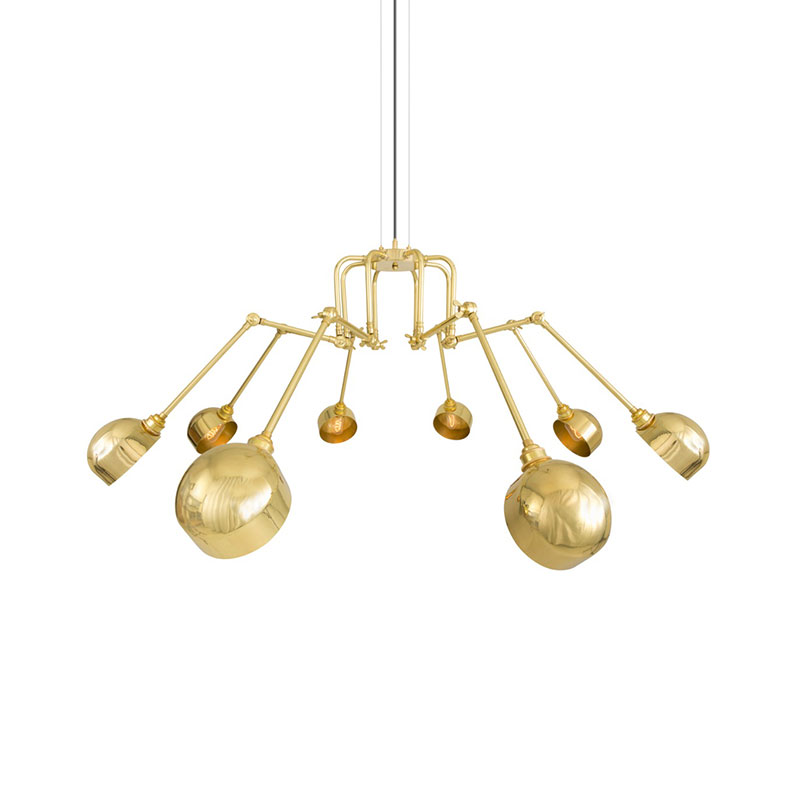 Mullan Lighting San Jose Eight Arm Chandelier by Mullan Lighting Olson and Baker - Designer & Contemporary Sofas, Furniture - Olson and Baker showcases original designs from authentic, designer brands. Buy contemporary furniture, lighting, storage, sofas & chairs at Olson + Baker.