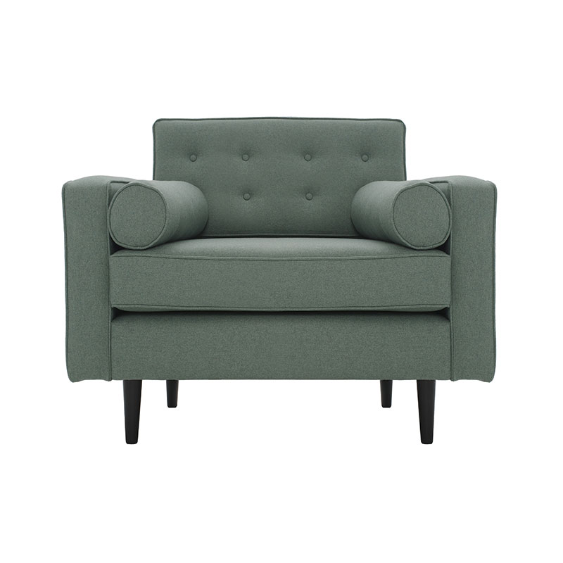 Olson and Baker Burnell Armchair by Olson and Baker Studio Olson and Baker - Designer & Contemporary Sofas, Furniture - Olson and Baker showcases original designs from authentic, designer brands. Buy contemporary furniture, lighting, storage, sofas & chairs at Olson + Baker.