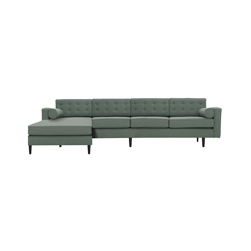 Olson and Baker Burnell Four Seat Corner Sofa with Chaise by Olson and Baker Studio Olson and Baker - Designer & Contemporary Sofas, Furniture - Olson and Baker showcases original designs from authentic, designer brands. Buy contemporary furniture, lighting, storage, sofas & chairs at Olson + Baker.