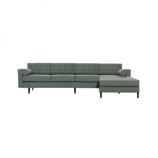 Burnell Four Seat Corner Sofa with Chaise