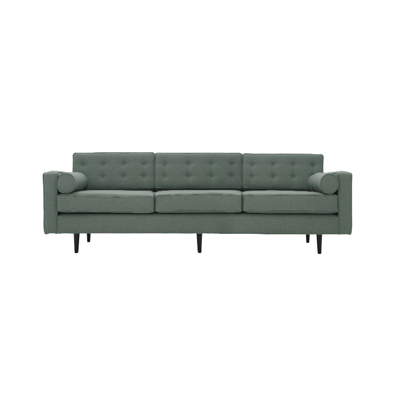Olson and Baker Burnell Three Seat Sofa by Olson and Baker Studio Olson and Baker - Designer & Contemporary Sofas, Furniture - Olson and Baker showcases original designs from authentic, designer brands. Buy contemporary furniture, lighting, storage, sofas & chairs at Olson + Baker.