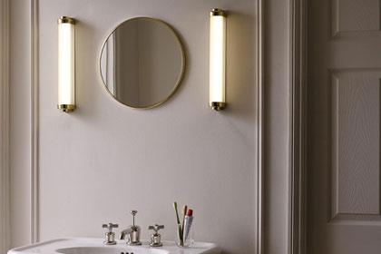vanity light to mirror ratio