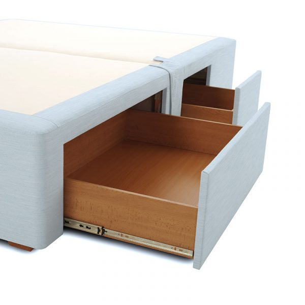 Berners Sprung Divan Bed with Four Drawers