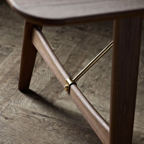 BM1160 Hunting Table by Borge Mogensen in Oiled Walnut