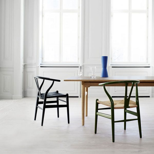 Carl-Hansen-CH24-Wishbone-Chair-by-Hans-Wegner-life-5 Olson and Baker - Designer & Contemporary Sofas, Furniture - Olson and Baker showcases original designs from authentic, designer brands. Buy contemporary furniture, lighting, storage, sofas & chairs at Olson + Baker.