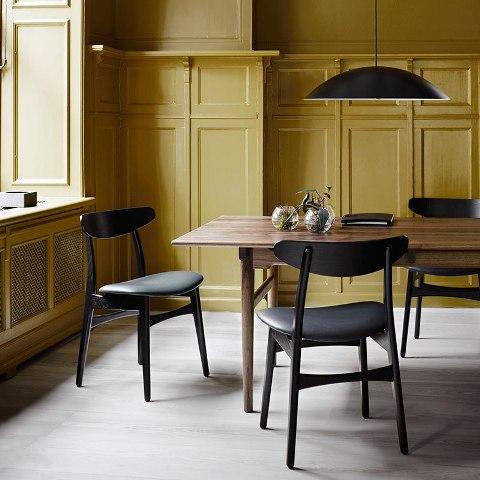 Carl Hansen CH327 Dining Table by Hans Wegner in Walnut