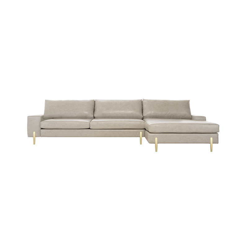 Olson and Baker Turing Four Seat Corner Sofa with Chaise by Olson and Baker Studio Olson and Baker - Designer & Contemporary Sofas, Furniture - Olson and Baker showcases original designs from authentic, designer brands. Buy contemporary furniture, lighting, storage, sofas & chairs at Olson + Baker.
