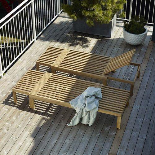 oak riviera sun loungers