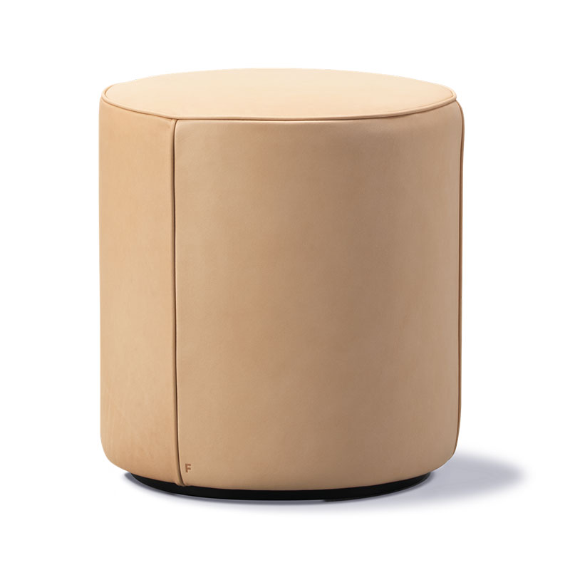 Fredericia Mono Pouf by Due & Trampedach Olson and Baker - Designer & Contemporary Sofas, Furniture - Olson and Baker showcases original designs from authentic, designer brands. Buy contemporary furniture, lighting, storage, sofas & chairs at Olson + Baker.